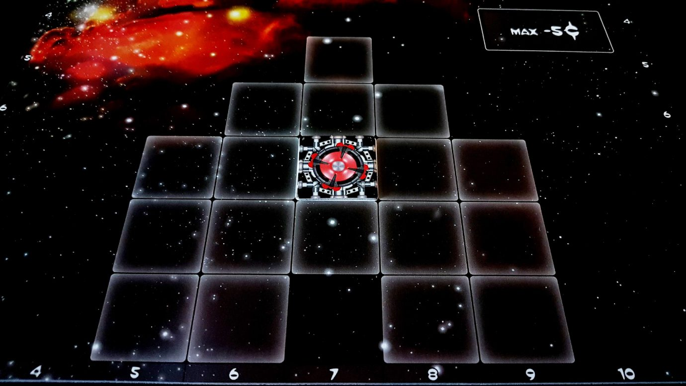 Galaxy Trucker starting board