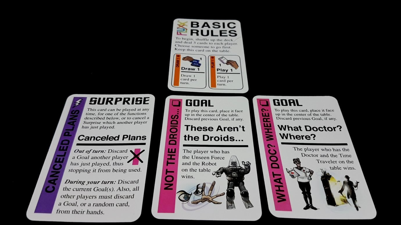 A set of cards in Star Fluxx