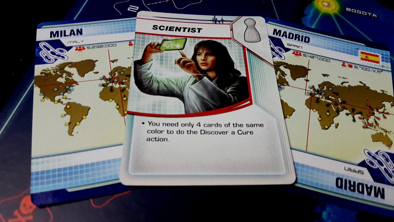 Scientist hard at work
