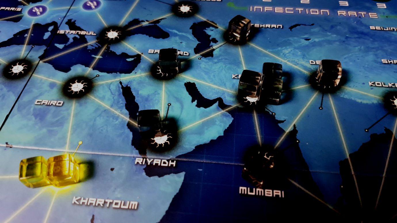 Karachi outbreak