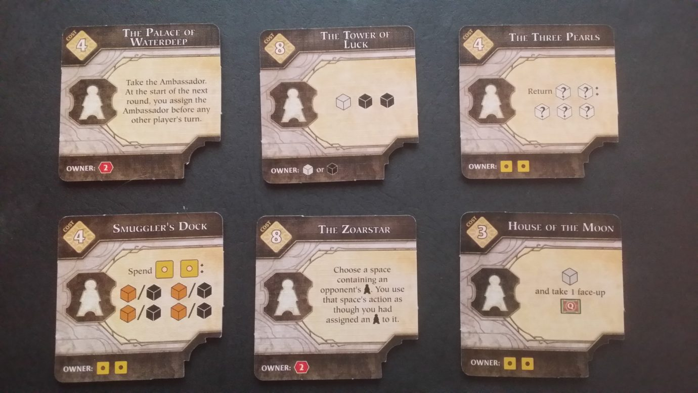 Buildings in Waterdeep