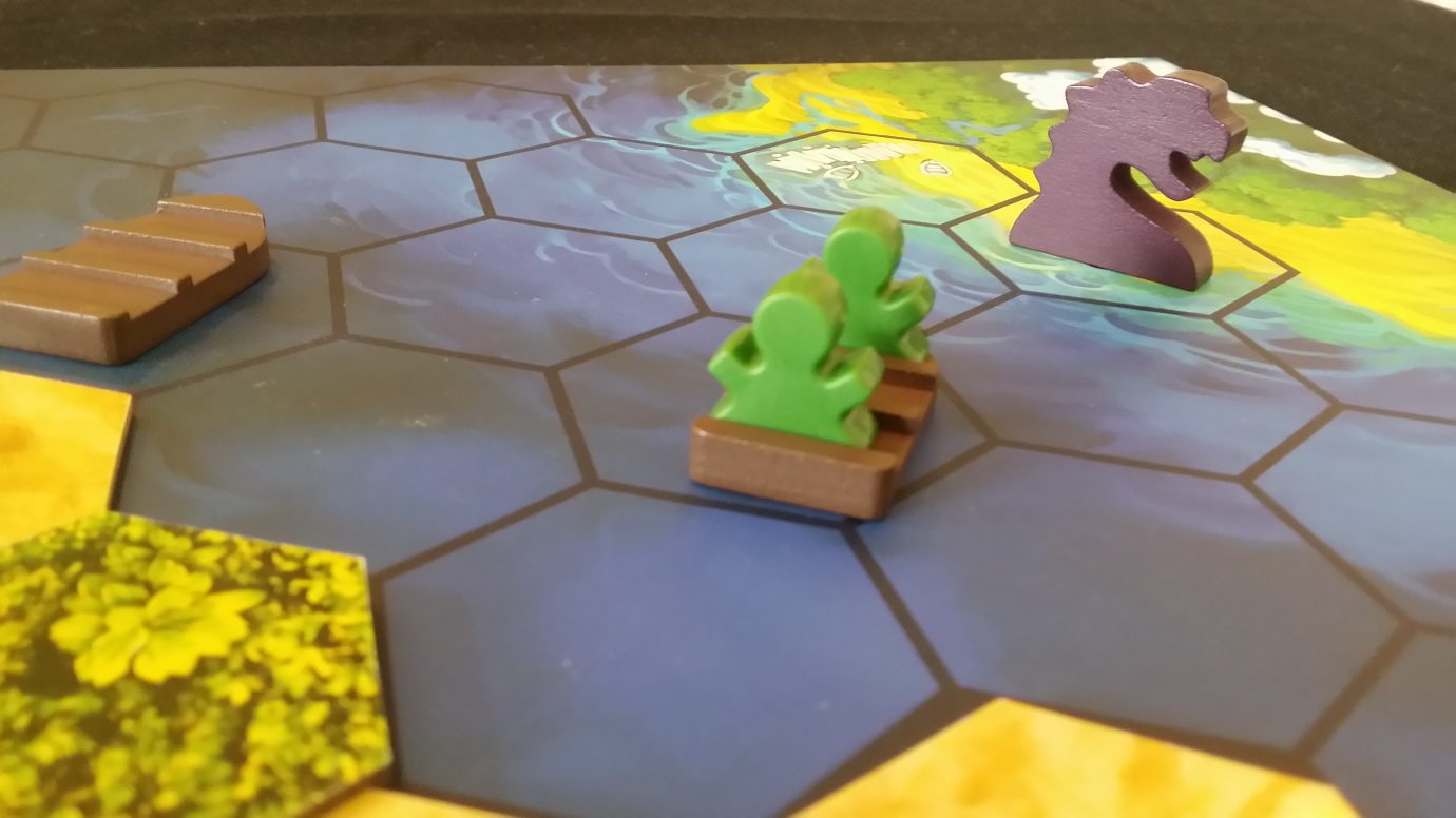Green meeples to safety