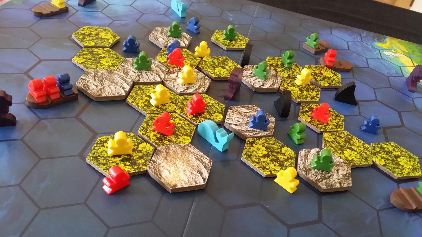 Island tiles