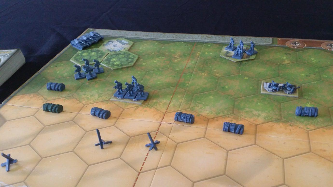 German flank