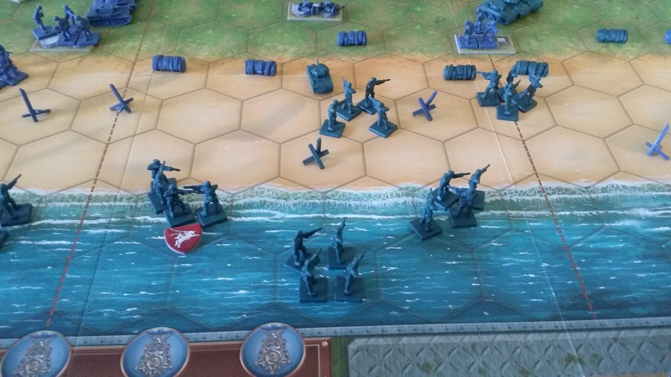 Infantry in sea