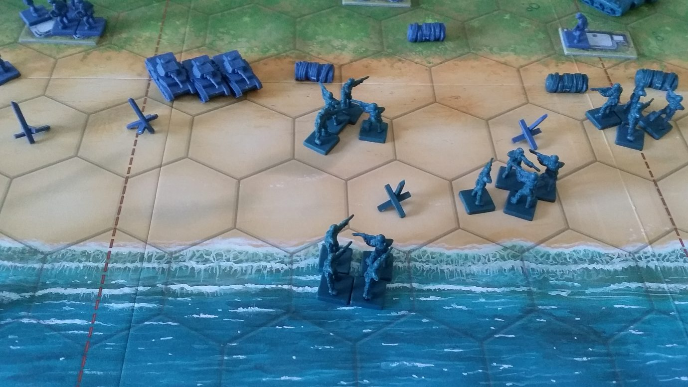 Infantry assault
