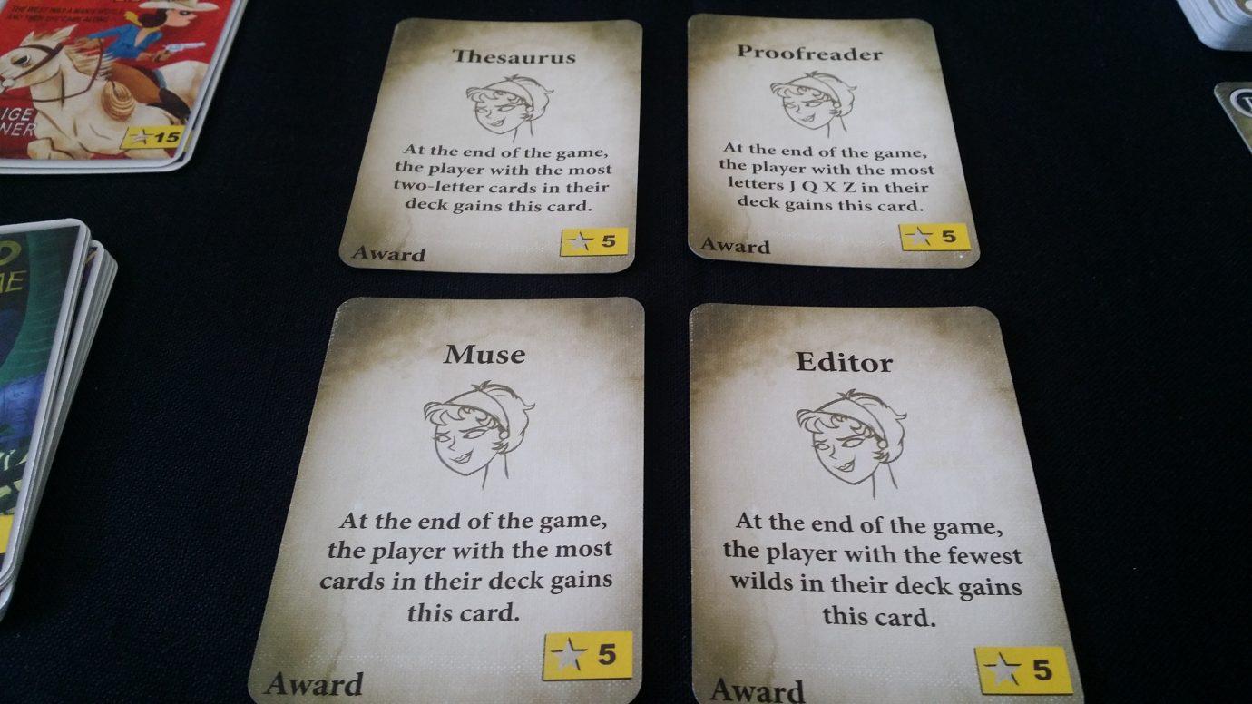 Award cards