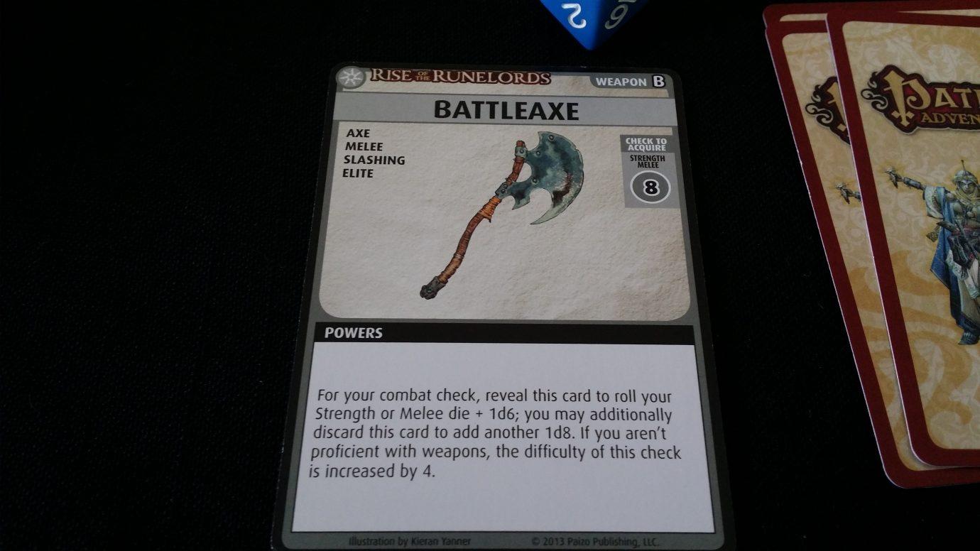 A battleaxe