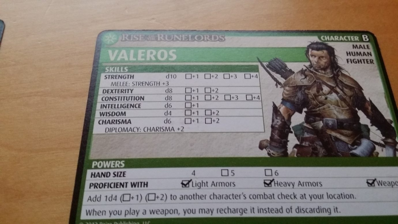 Character card