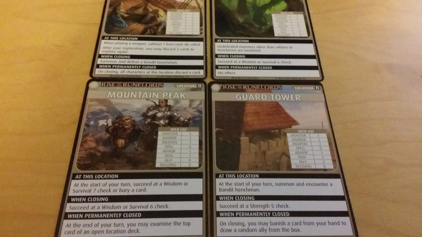 Location decks
