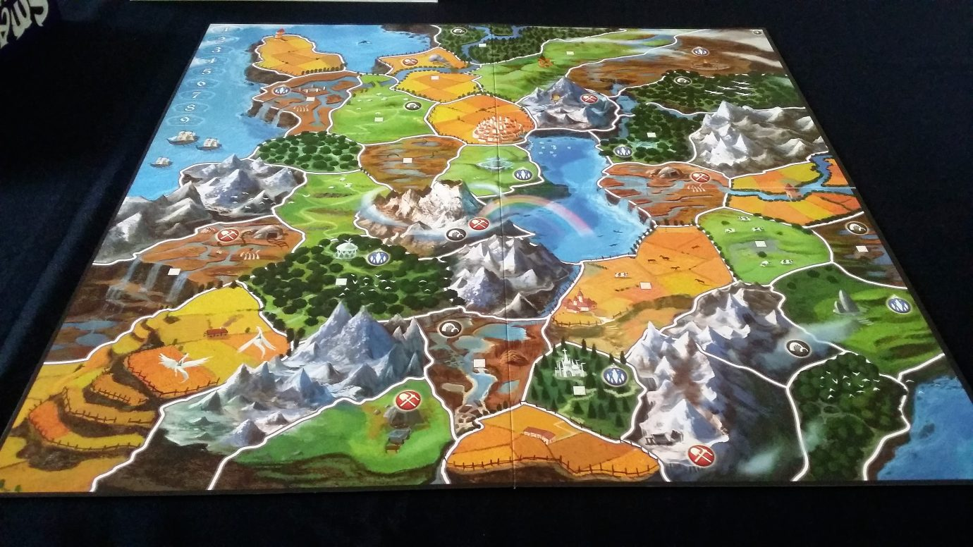 Four player map