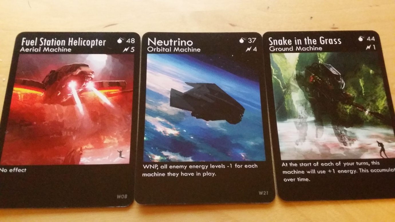 Some War Co cards