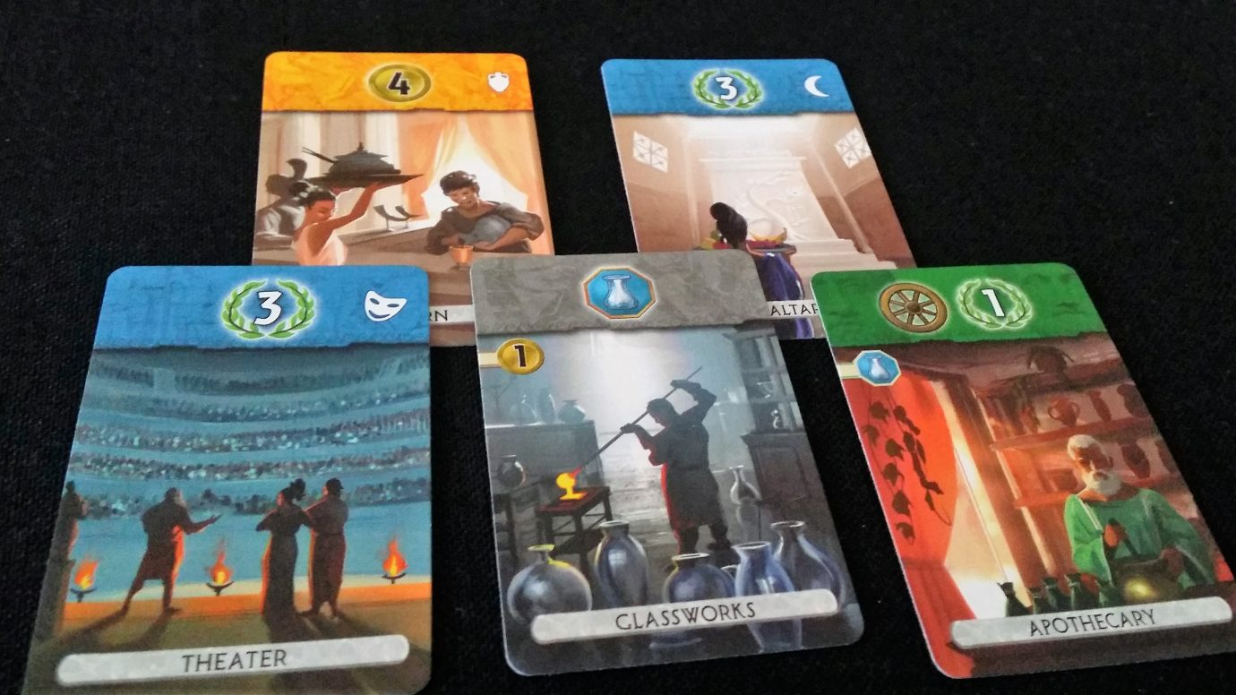 Remaining cards