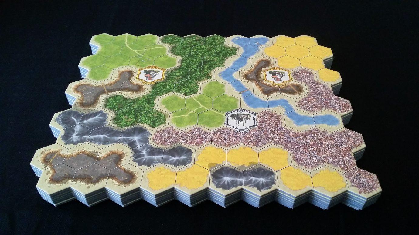 Kingdom Builder boards