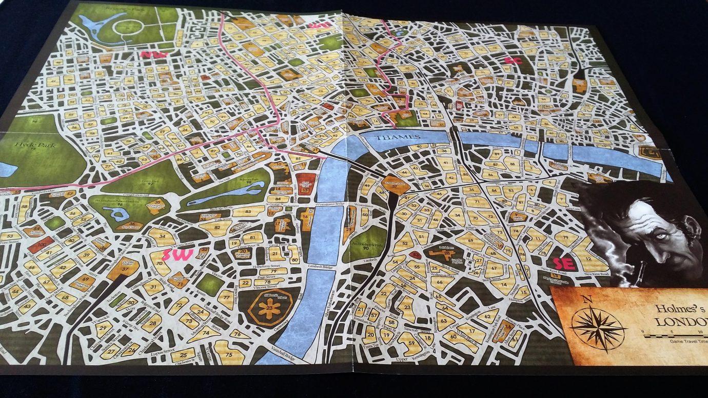 Sherlock map