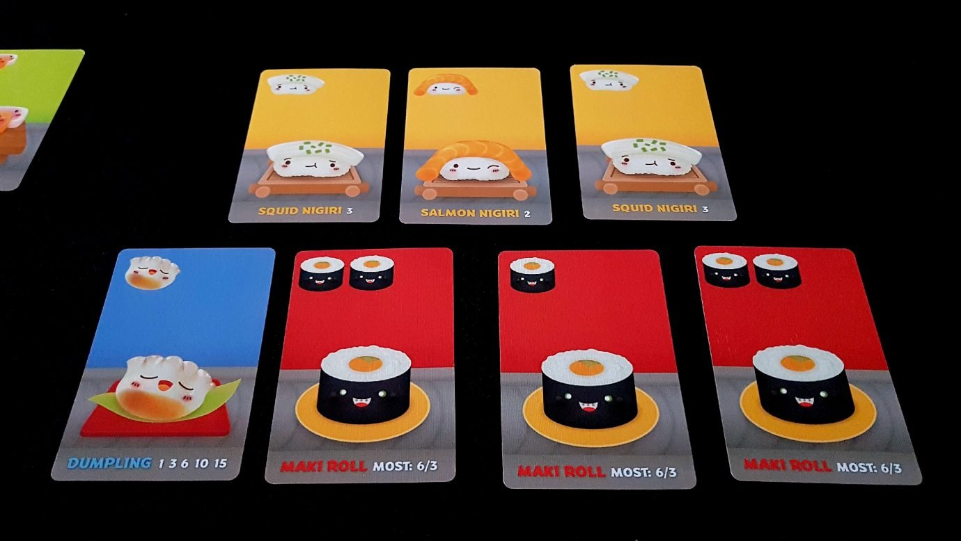 The second hand in Sushi Go