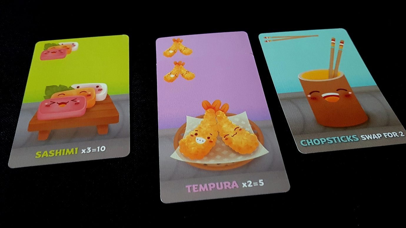 Some more art in Sushi Go