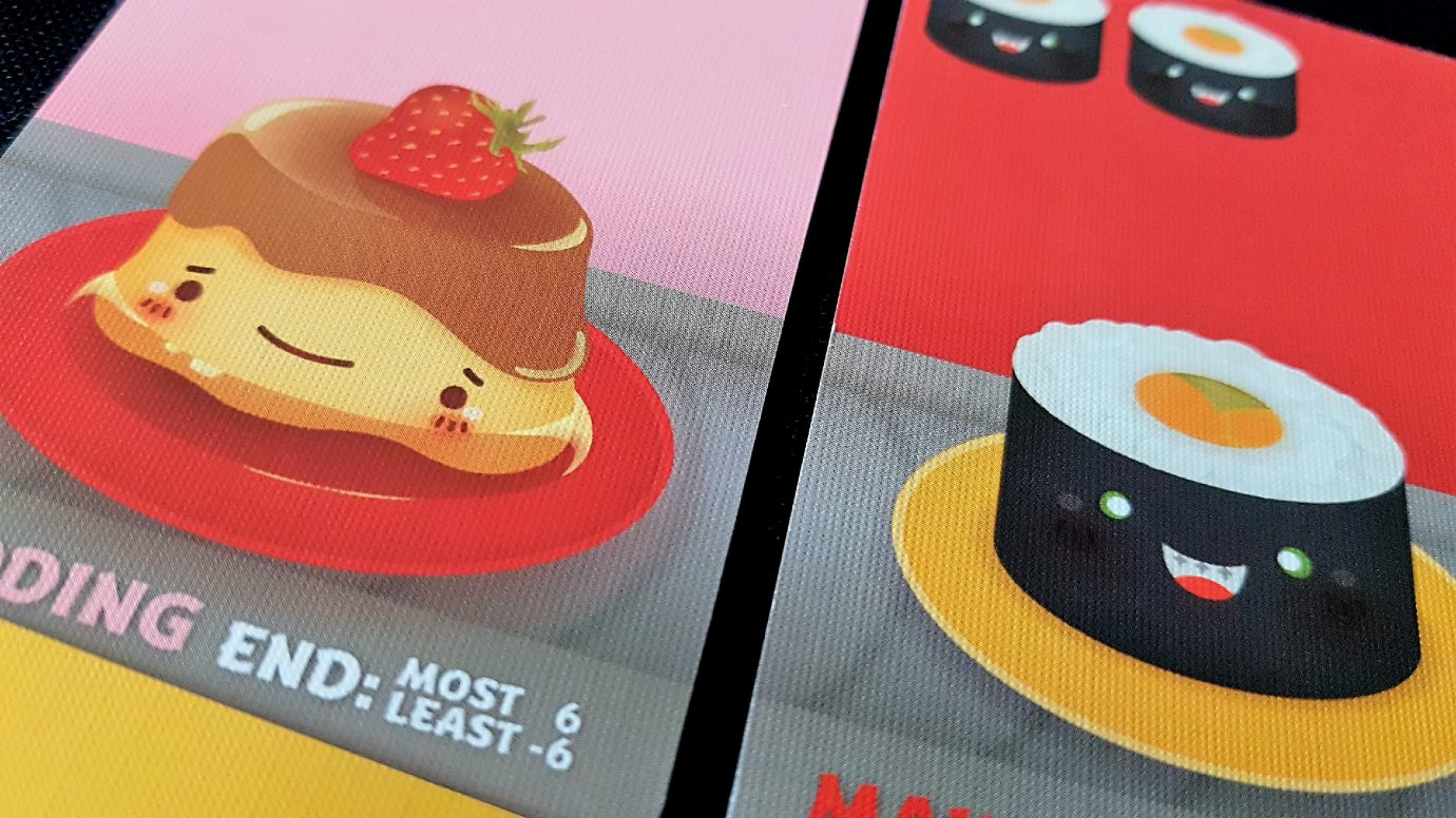 Puddings in Sushi Go