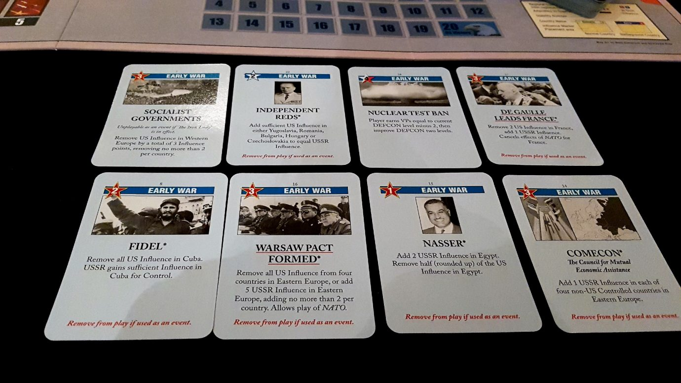 Early war cards