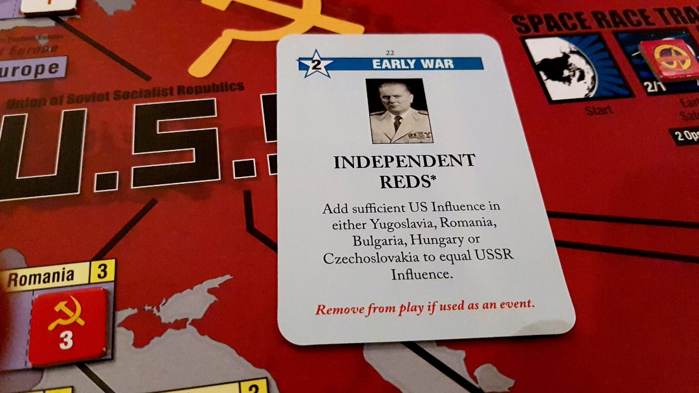 Independent Reds card