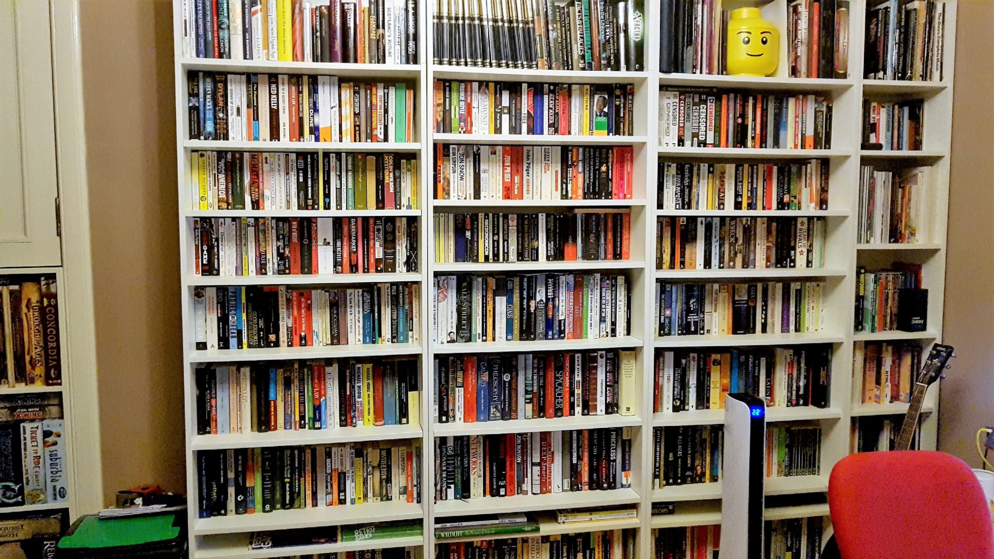 My non-fiction shelves