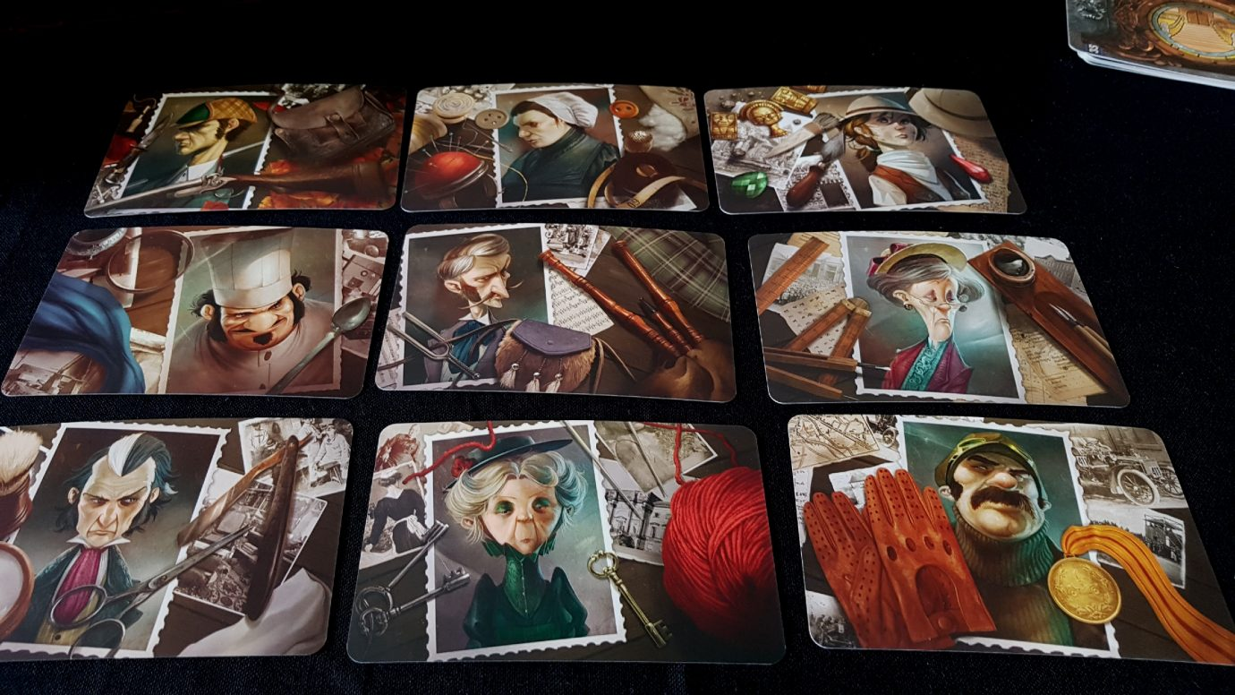 Faces in Mysterium