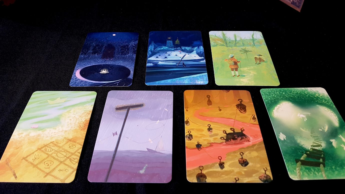 Ghost vision cards
