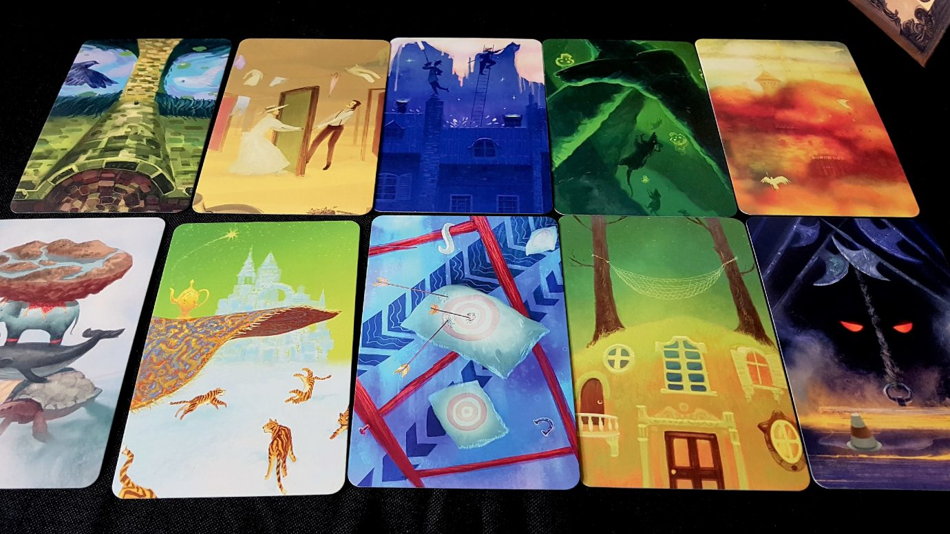 More Mysterium cards