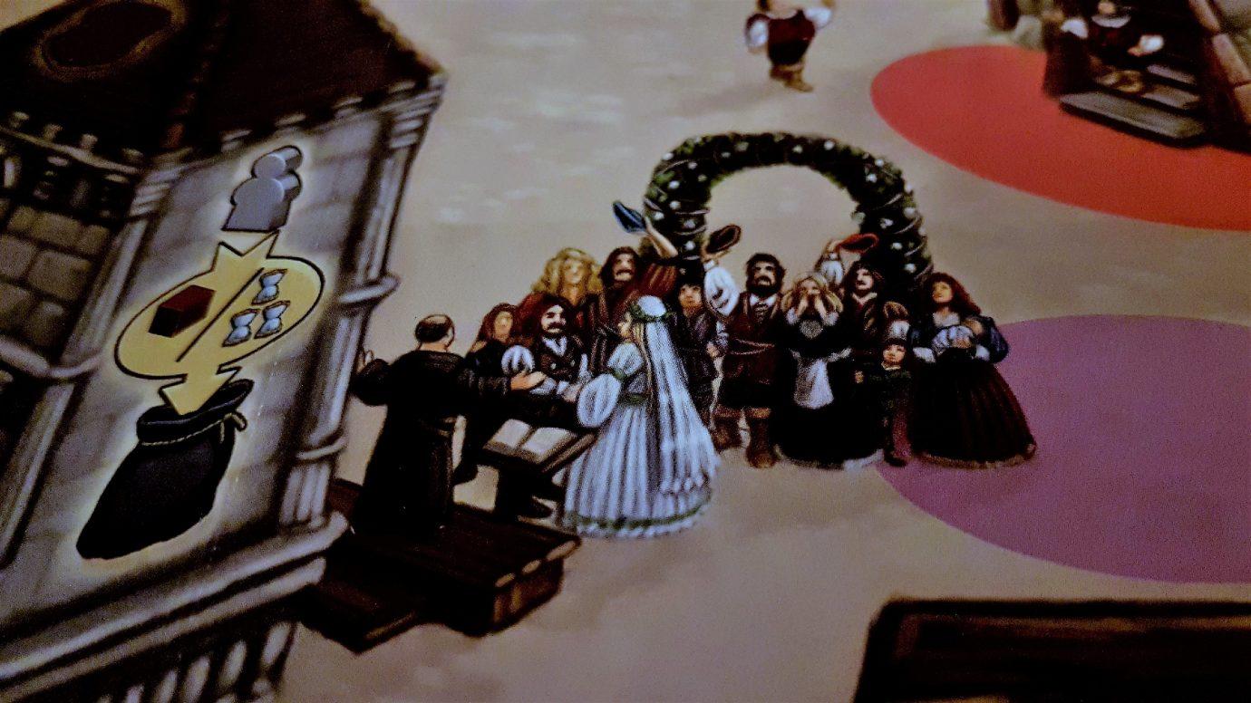 A wedding in the village