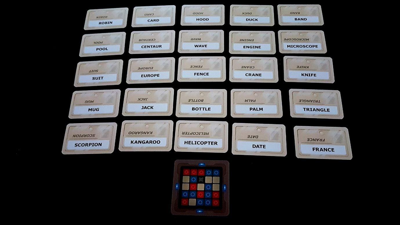 Codenames grid
