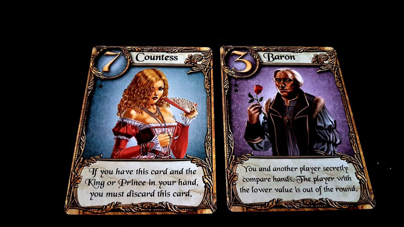 Countess and Baron