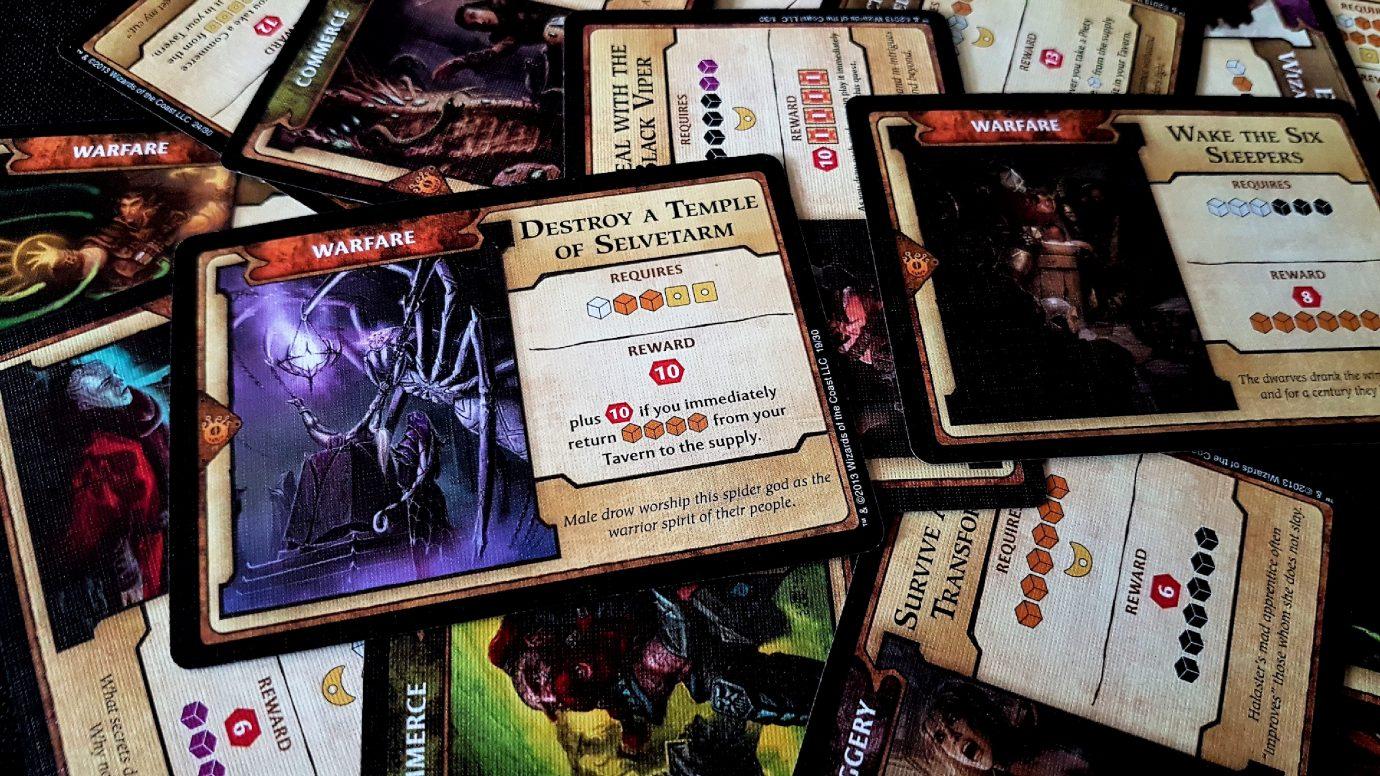Undermountain cards