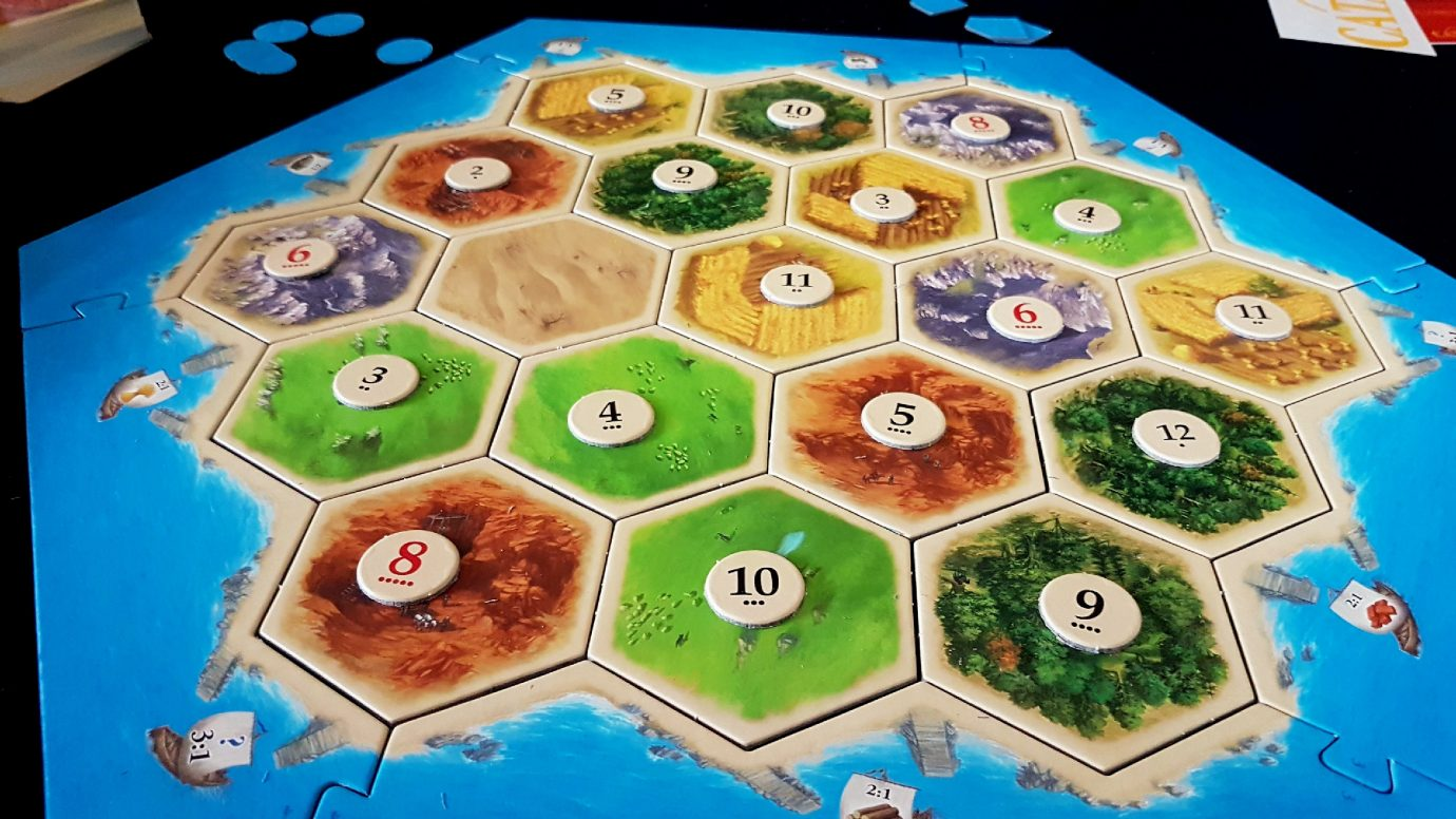 Setup Catan board