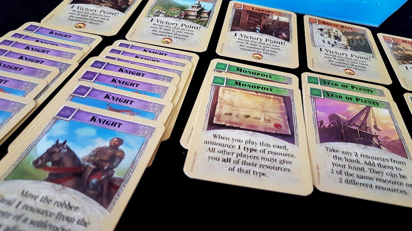 Development cards