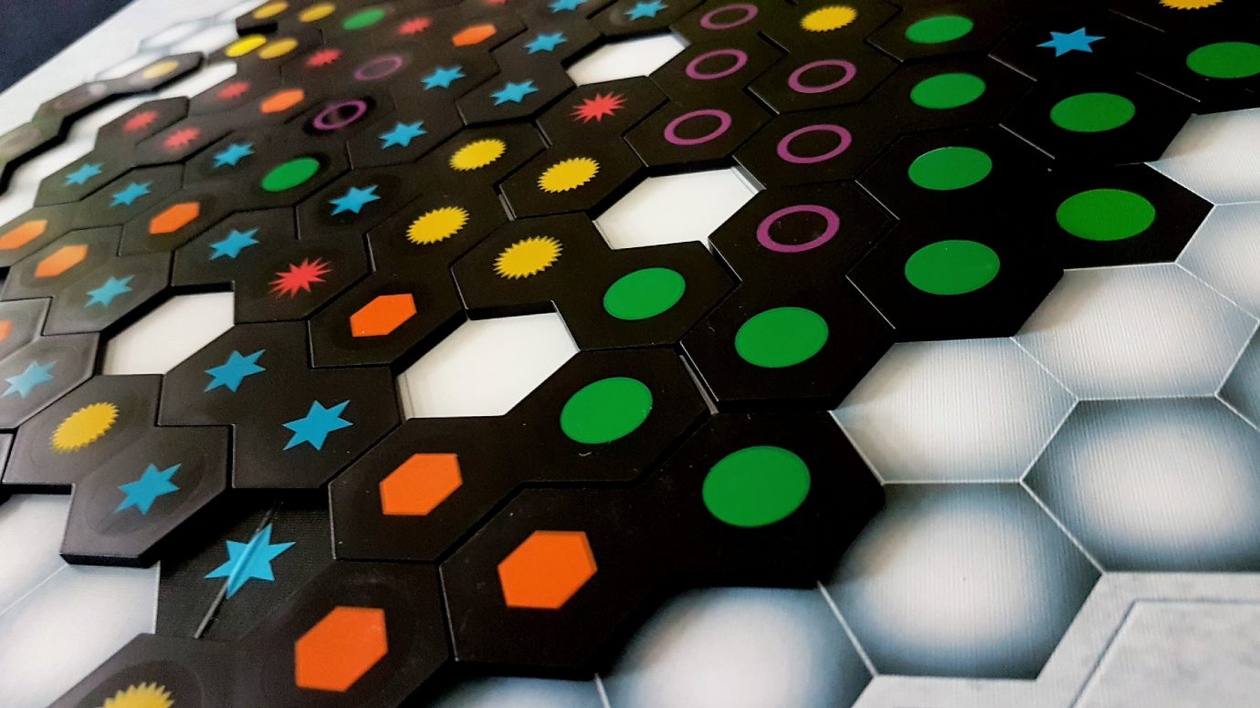 Hexes on the board