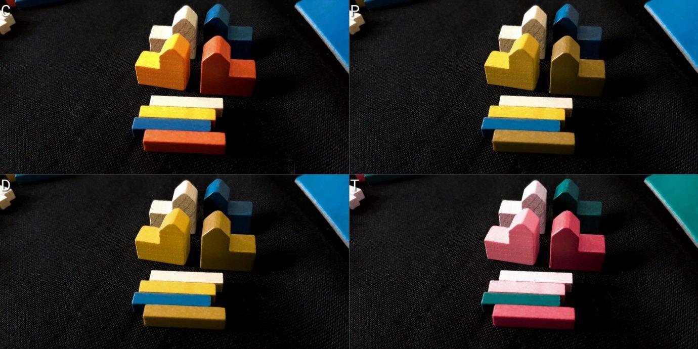 Colour blind pieces