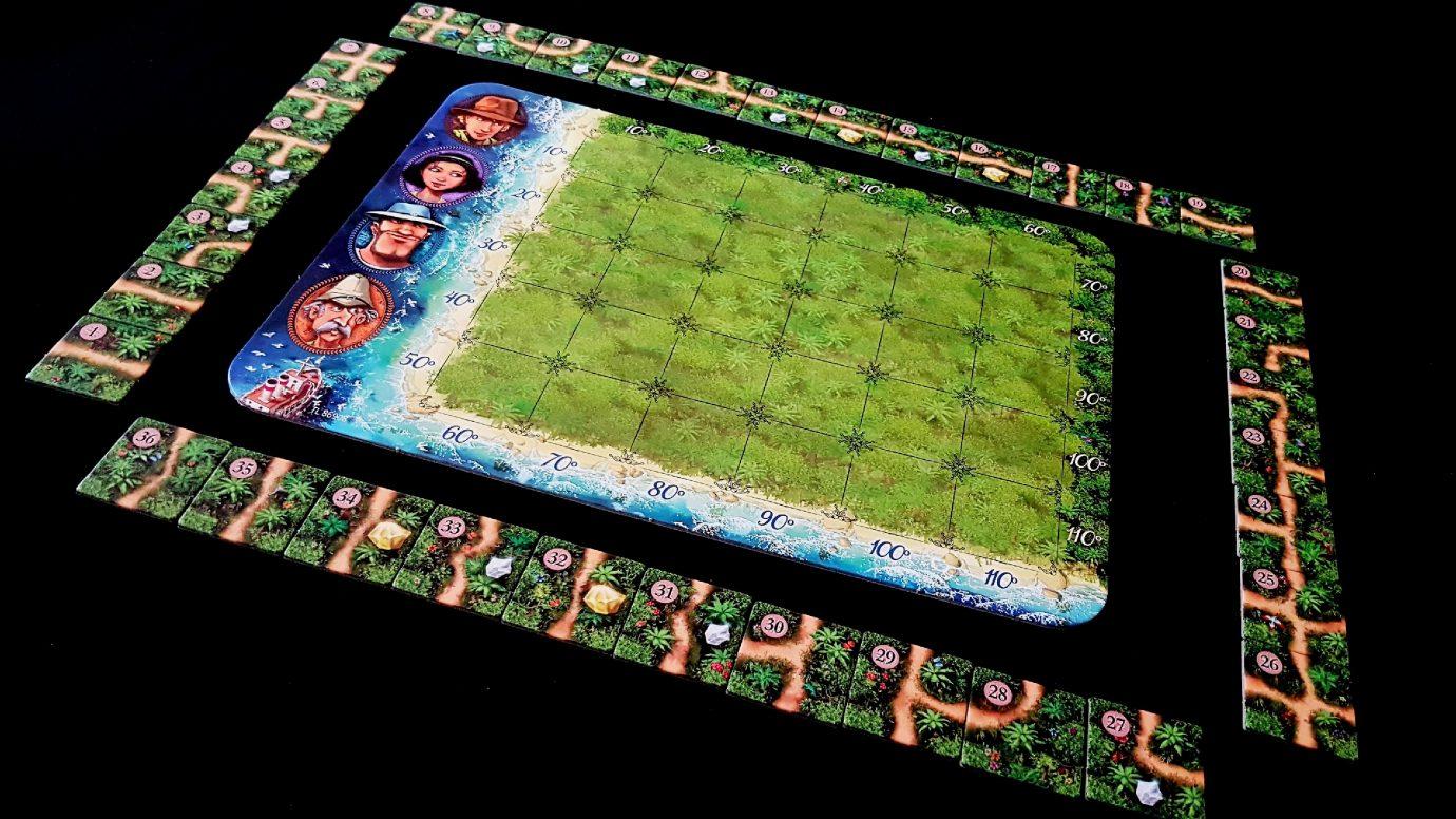 Tiles around the island