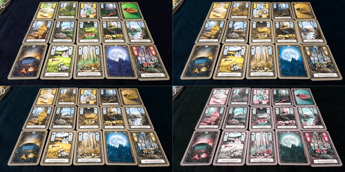 All the cards