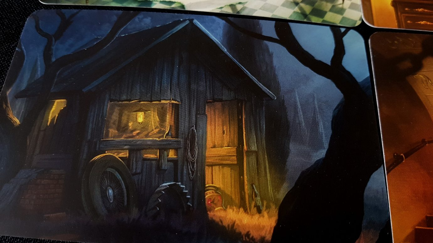 A creepy hut from Mysterium