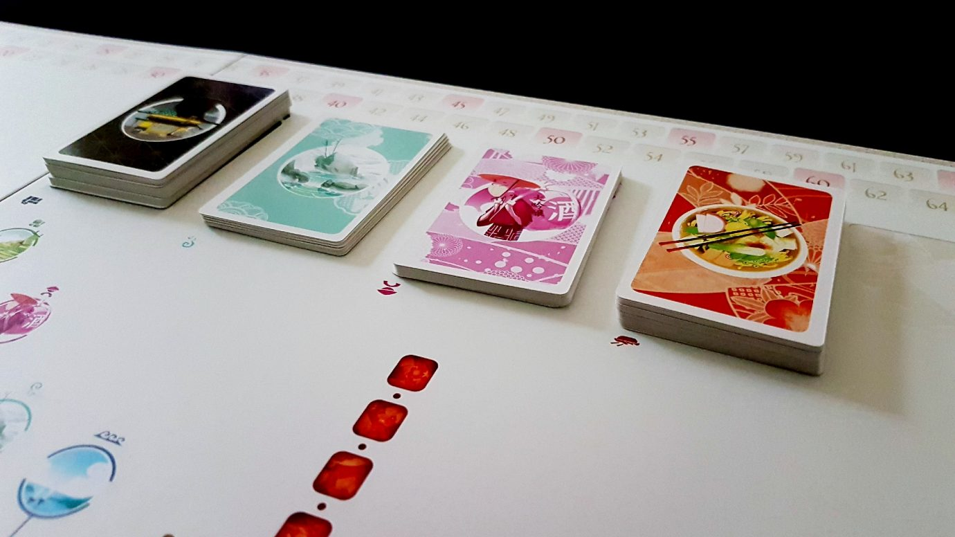Cards in Tokaido