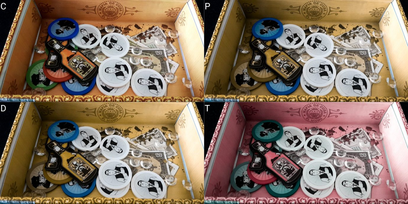 Mafia de Cuba colour blind box