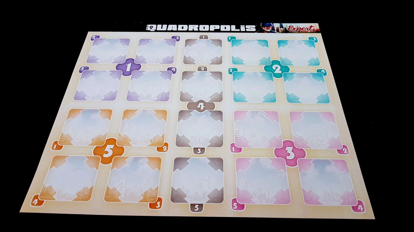 Quadropolis player board