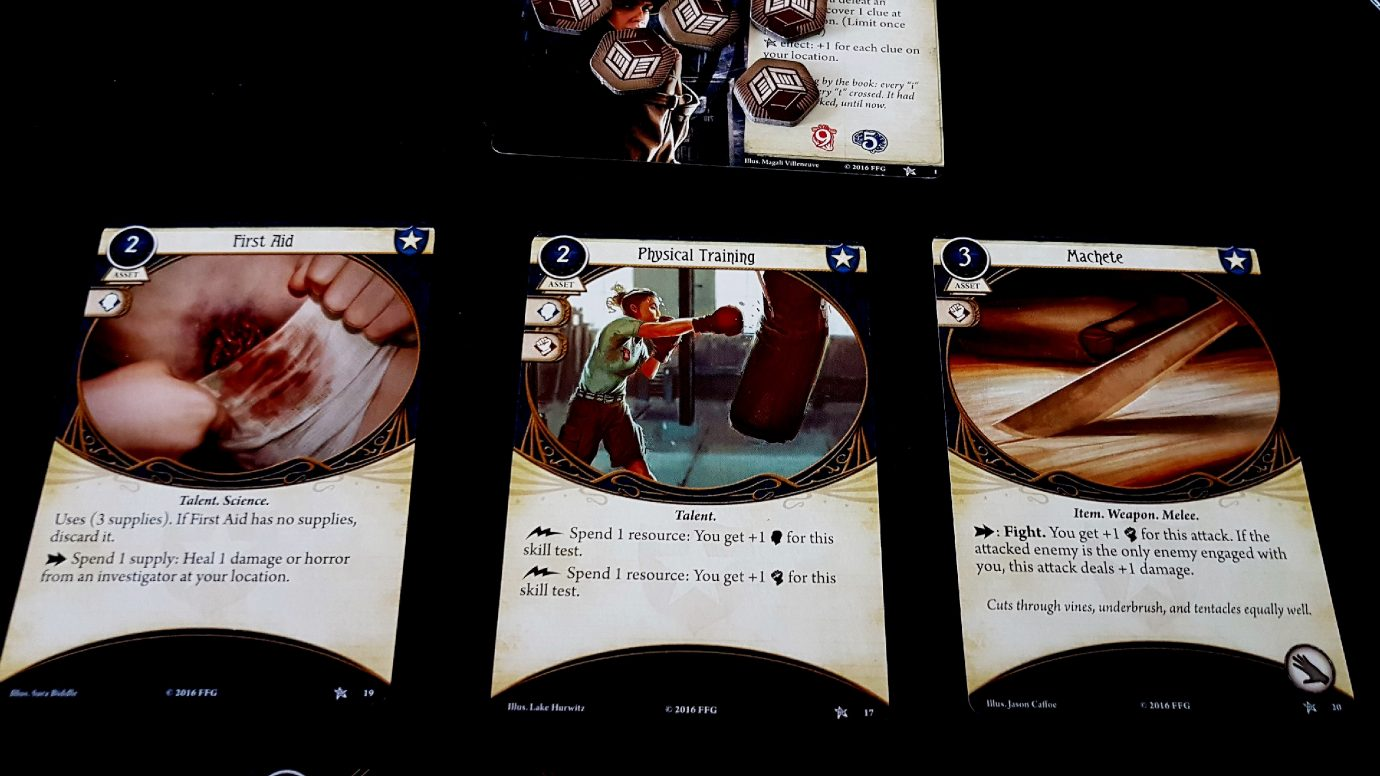 Cards in Arkham Horror