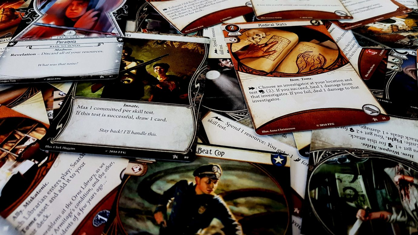 Arkham Horror The Card Game Accessibility Teardown