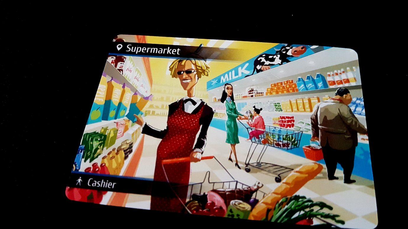 Supermarket card
