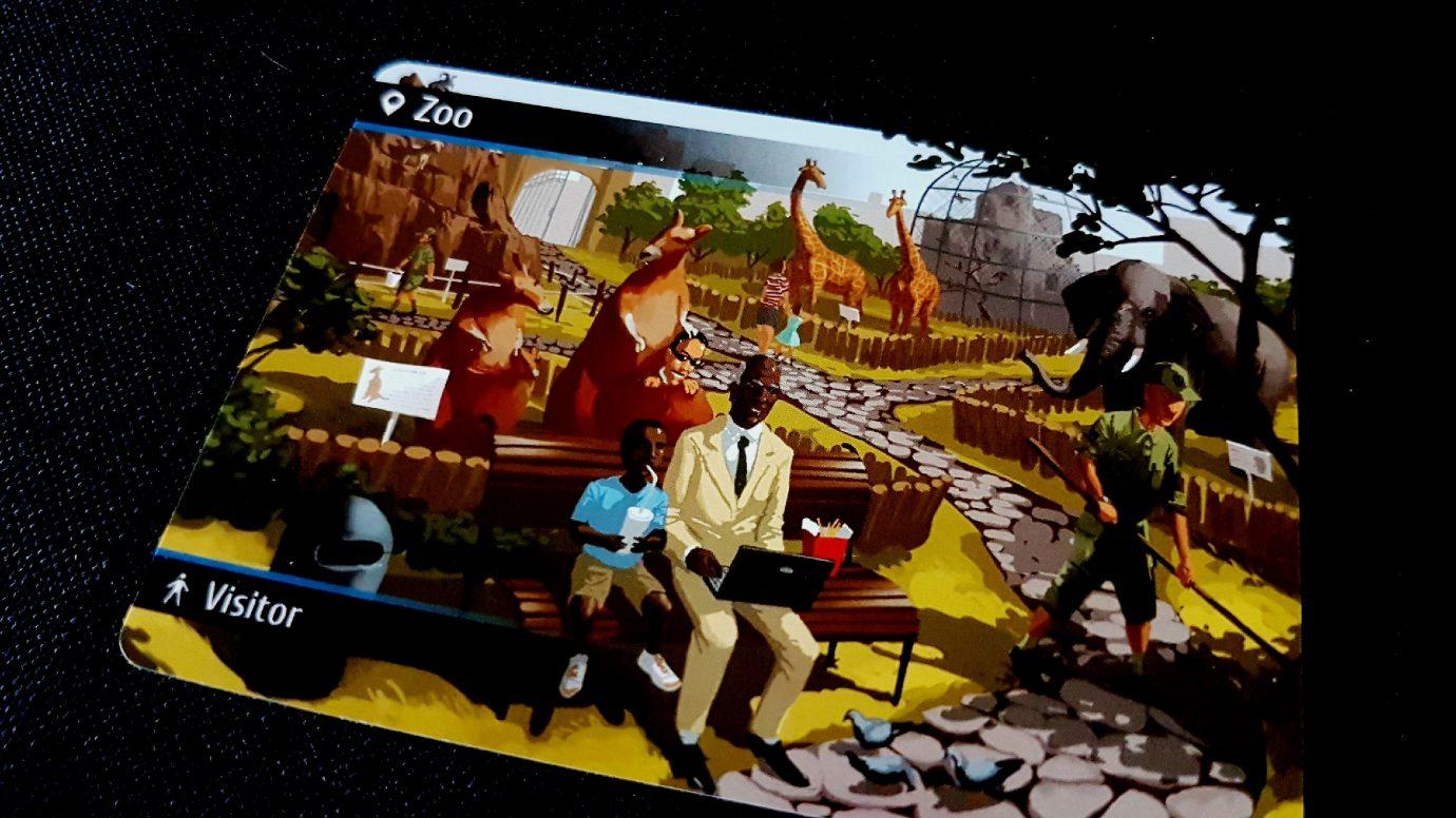 A zoo card