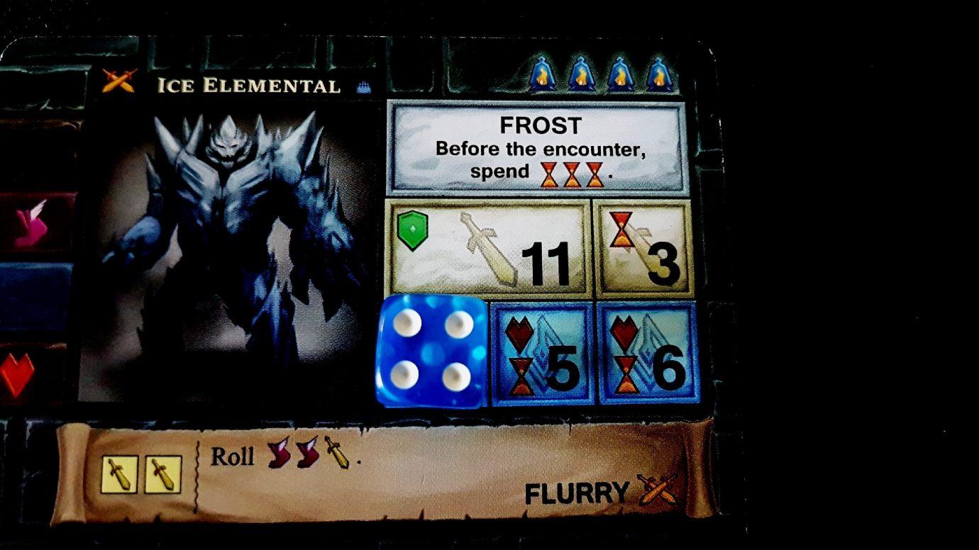 Ice elemental card