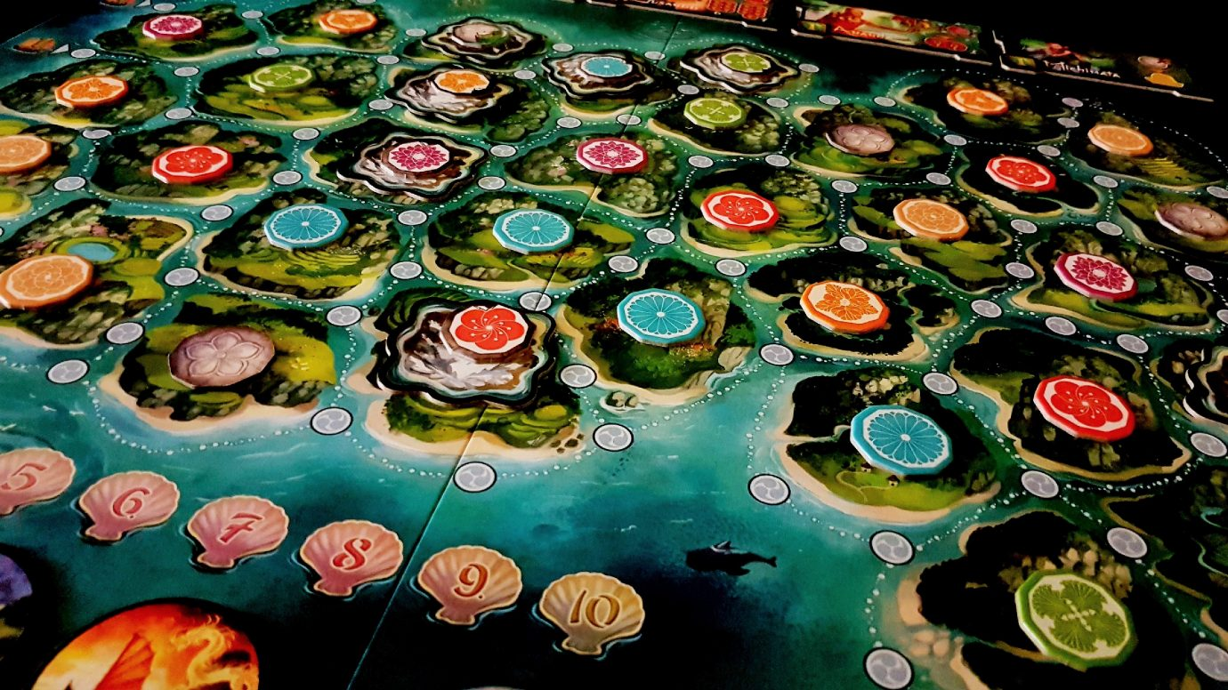Yamatai laid out with mountains