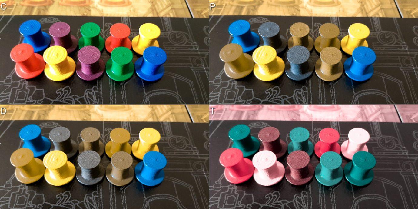 Colour blind hats