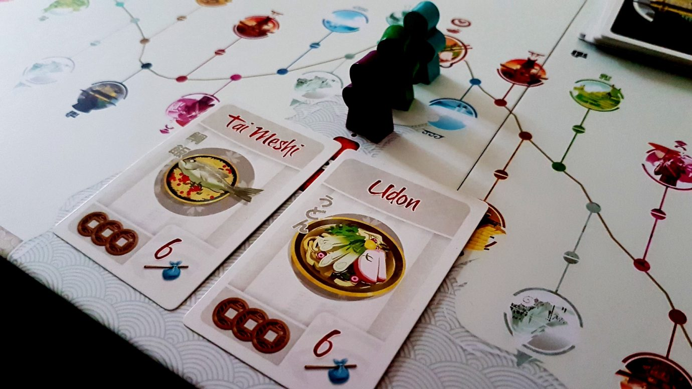 Meals from tokaido